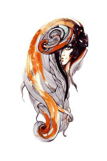 Beauty-okalinichenko-Art Print