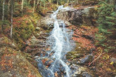 Beaver Creek Cascades in Autumn, New Hampshire-Vincent James-Photographic Print