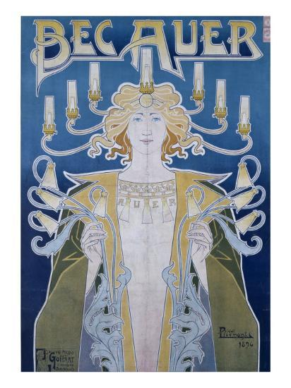 Bec Auer, Belgium, 1896-Privat Livemont-Giclee Print