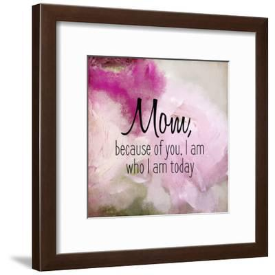Because of You 2-Kimberly Allen-Framed Art Print