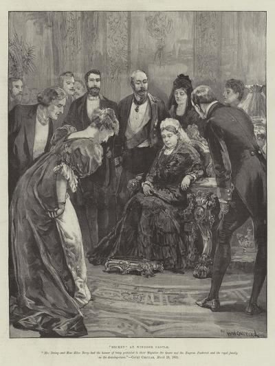 Becket, at Windsor Castle-William Heysham Overend-Giclee Print