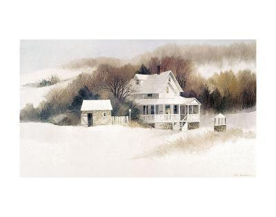 Beckett Farm-Albert Swayhoover-Art Print