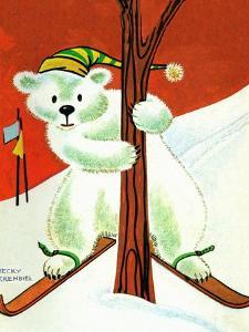 Polar Bear Skis - Jack & Jill by Becky Krehbiel