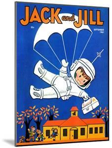 Special Delivery  - Jack and Jill, September 1961 by Becky Krehbiel
