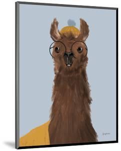 Delightful Alpacas III by Becky Thorns
