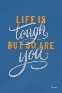 Encouraging Words - Tough by Becky Thorns