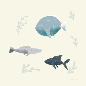 Ocean Life Fish by Becky Thorns