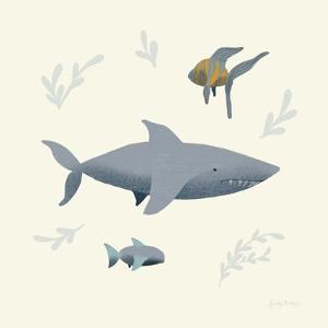 Ocean Life Shark by Becky Thorns