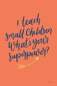 Teachers I Orange by Becky Thorns