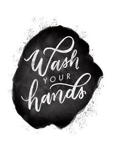 Wash Your Hands V by Becky Thorns