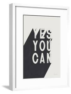 Yes You Can BW by Becky Thorns