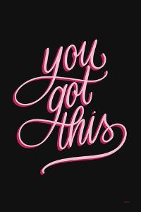 You Got This Black and Pink by Becky Thorns