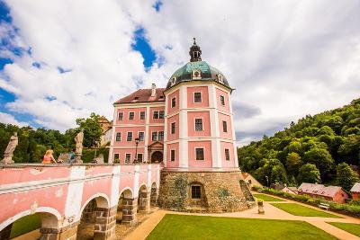 Becov Castle in Karlovy Vary, Bohemia, Czech Republic, Europe-Laura Grier-Photographic Print