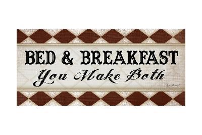 Bed and Breakfast-Jennifer Pugh-Art Print