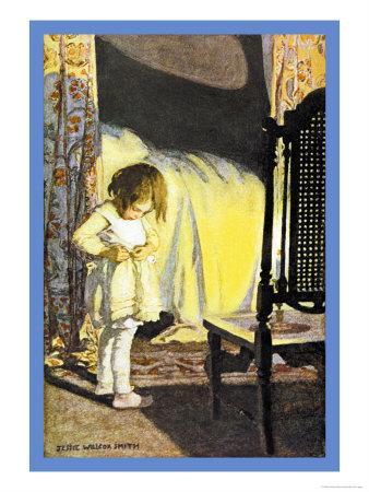 Bed in Summer-Jessie Willcox-Smith-Art Print