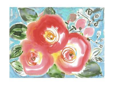 Bed of Roses II-Julia Minasian-Art Print