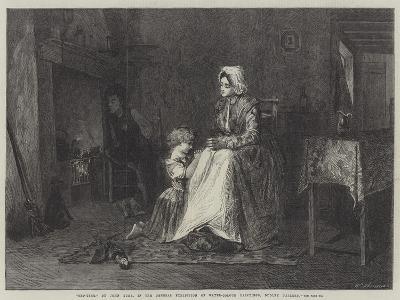 Bed-Time-John Burr-Giclee Print