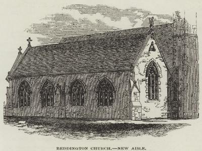 Beddington Church, New Aisle--Giclee Print