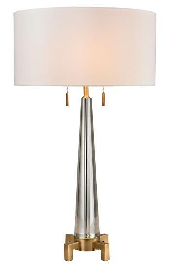 Bedford Solid Crystal Table Lamp--Home Accessories