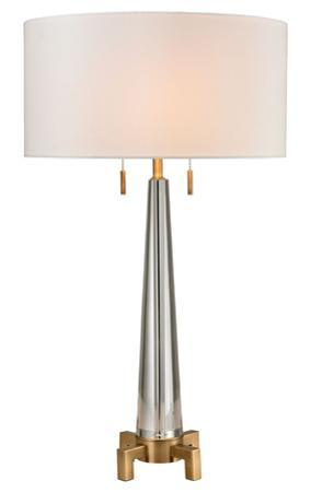 Bedford Solid Crystal Table Lamp