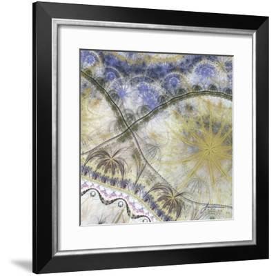 Bedouin Map I-James Burghardt-Framed Giclee Print