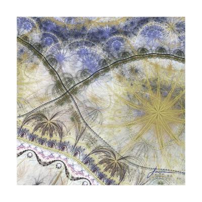 Bedouin Map I-James Burghardt-Art Print