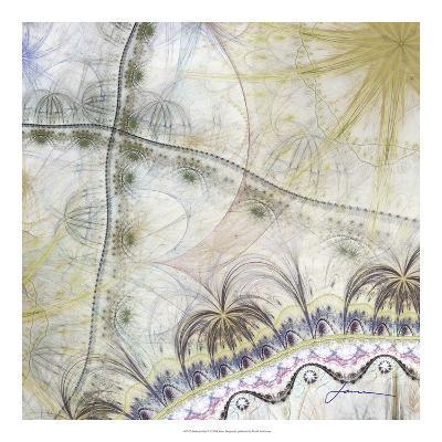 Bedouin Map II-James Burghardt-Giclee Print
