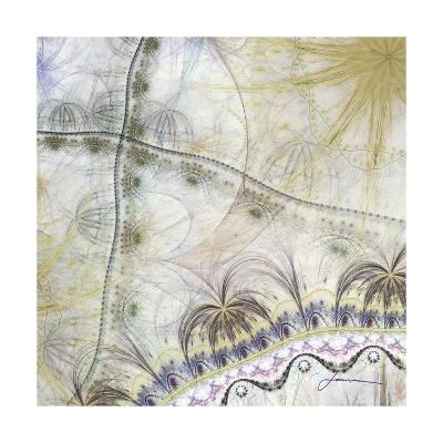 Bedouin Map II-James Burghardt-Art Print