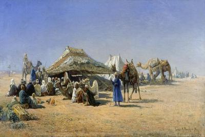 Bedouins with Tents Near Cairo, 1876-Nikolaj Jegorowitsch Makovskij-Giclee Print
