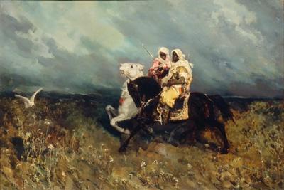 Bedouins-Vasilii Kotarbinsky-Giclee Print