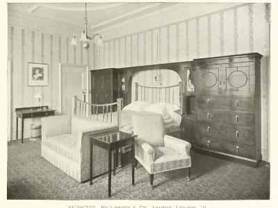 Bedroom, by Liberty and Company, London W--Photographic Print