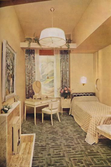 Bedroom designed by Esmé Gordon, A.R.I.B.A., A.R.I.A.S.-Unknown-Photographic Print