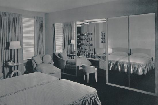 'Bedroom designed by James F. Eppenstein, Chicago', 1942-Unknown-Photographic Print