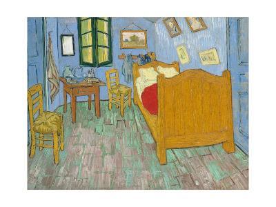 Bedroom in Arles-Vincent van Gogh-Giclee Print