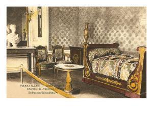 Bedroom of Napoleon in Versailles