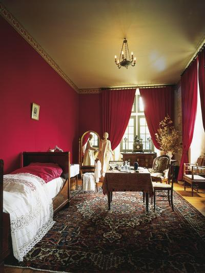 Bedroom with Empire and Restoration Style Furniture--Photographic Print