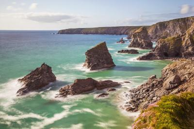 Bedruthan Steps, Newquay, Cornwall, England, United Kingdom-Billy Stock-Photographic Print