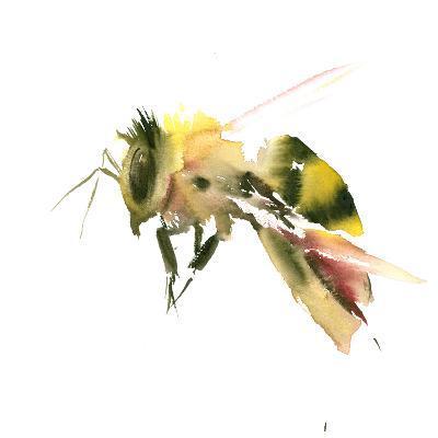 Bee 2-Suren Nersisyan-Art Print