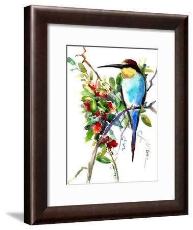 Bee Eater 2-Suren Nersisyan-Framed Art Print
