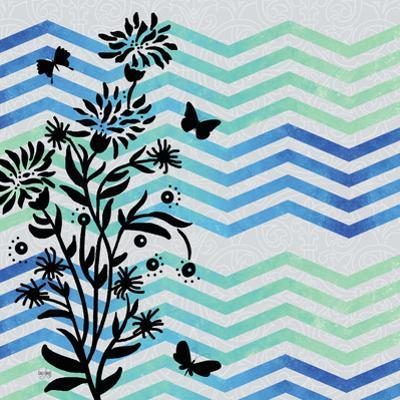 Chevron Floral by Bee Sturgis