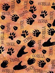 Safari Adventure Animal Footprints by Bee Sturgis