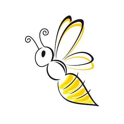 Bee Stylized-talitha-Art Print