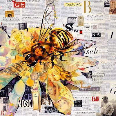 Bee-James Grey-Art Print