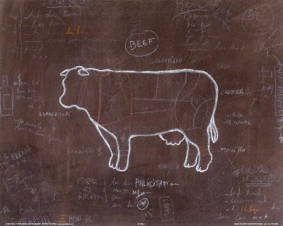 Beef-Steven Norman-Art Print