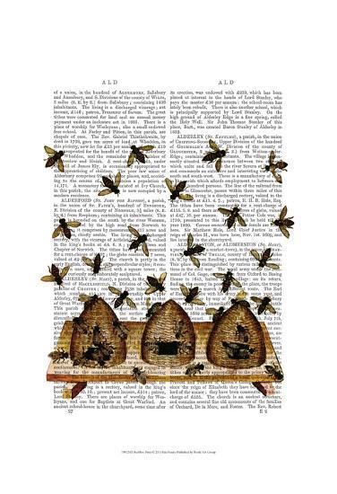 BeeHive Print-Fab Funky-Art Print