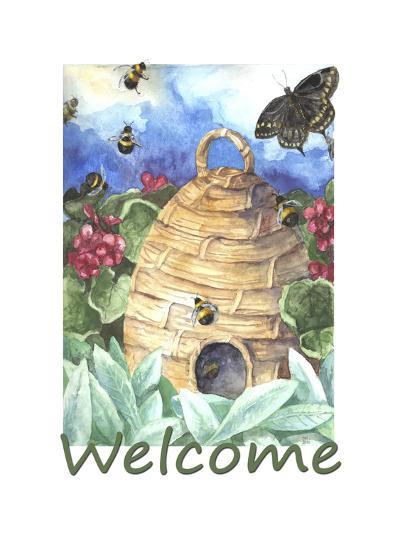 Beehive Welcome-Melinda Hipsher-Giclee Print