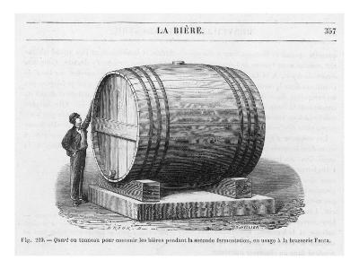 Beer Barrel at Fanta--Giclee Print
