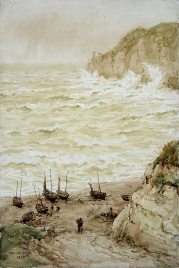 Beer Cove in a Storm, 1922-Frank Dadd-Giclee Print