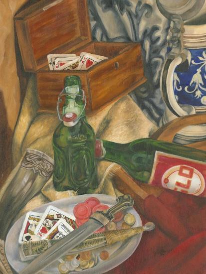 Beer Indulgences I-Jennifer Goldberger-Art Print