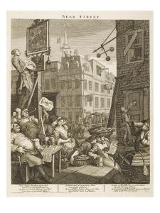 Beer Street Political Print